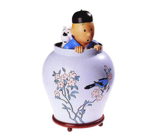 Deco Cuisine Blanc Et Rouge : Tintin  Objets de collection