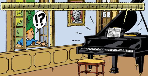 """Résultat de recherche d'images pour """"tintin musique"""""""