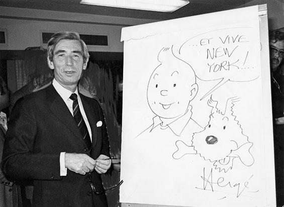 Resultado de imagen de Hergé