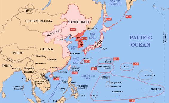 Carte Chine Japon.Tension En Mer De Chine