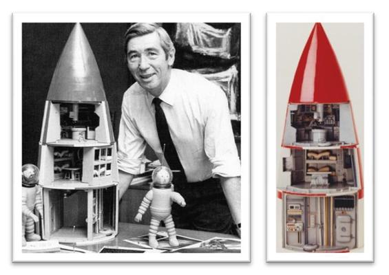 Alexandre ananoff l 39 astronaute qui se mit au service de herg - Fusee de tintin a colorier ...