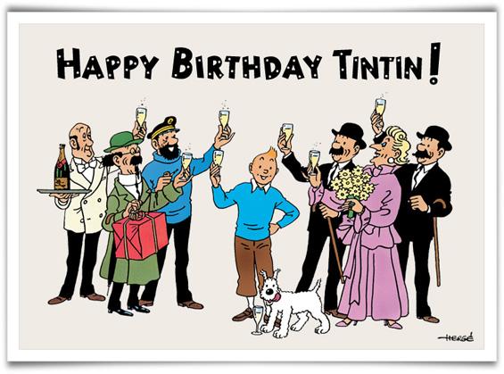 Les 85 ans de tintin - Tintin gratuit ...