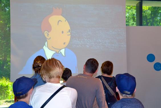 Dimanche gratuit au mus e herg - Tintin gratuit ...