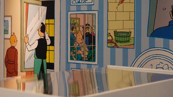 Papier Peint Tintin Et Milou tintin à londres