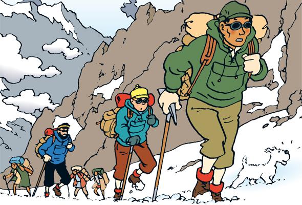 Tintin au tibet - Image de tintin et milou ...