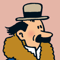 Résultat d'images pour Euclide dans Tintin